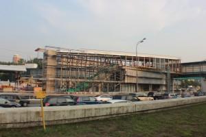Строительство ТПУ Автозаводская в ЮАО Москвы