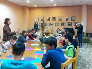 Мастер-класс в библиотеке №140