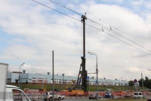 Строительство новой автомагистрали проходит в районе Бирюлево Восточное