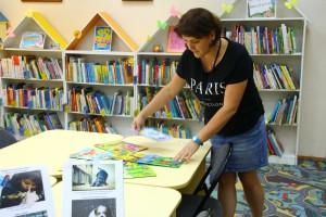 Подготовка к выставке в библиотеке №142 района Бирюлево Восточное