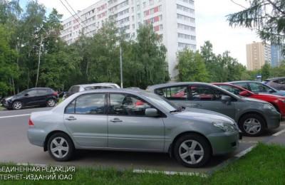 Парковка в районе Бирюлево Восточное