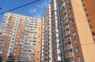 Многоэтажный жилой дом в районе Бирюлево Восточное