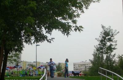 Улица Липецкая в районе Бирюлево Восточное