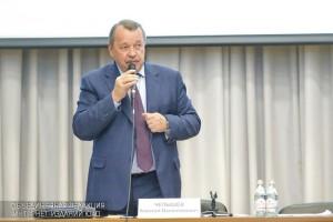 Алексей Челышев на встрече с жителями