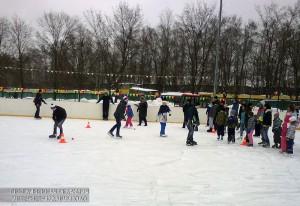 Зимнее спортивное мероприятие в ЮАО