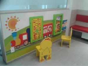 Игровая зона в поликлинике ЮАО