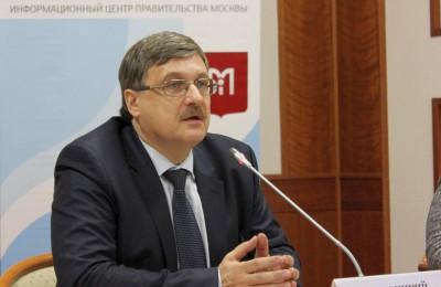 заместитель руководителя Департамента топливно-энергетического хозяйства Москвы Иван Новицкий