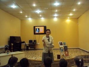 Литературный час в библиотеке №140