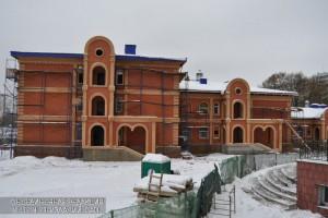 Строительство православного храма
