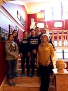 Студенты колледжа №35 в картинной галерее Шилова