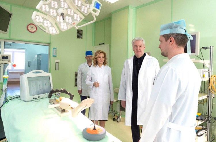 Количество высокотехнологичных операций вгородских клиниках возросло в 38 раз— Сергей Собянин