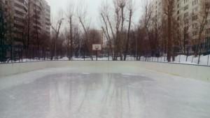 Каток на Бирюлевской улице, дом 58, корпус 2