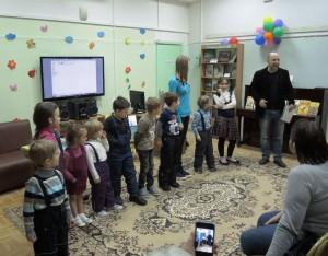 Встреча с писателем Валентином Постниковым в библиотеке №138