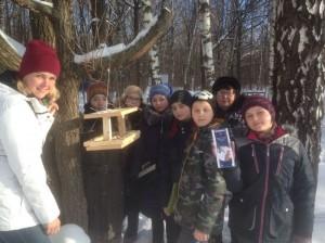 Акция «Покормите птиц зимой» в Бирюлевском Дендропарке