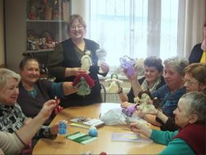 Мастер-класс по изготовлению куколок-оберегов Мартиничек