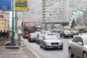 Москвичек поздравят с 8 марта с медиафасадов на Новом Арбате