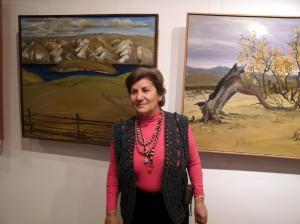 Выставка работ Аллы Афоненко