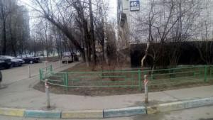 Отремонтированные малые архитектурные формы на Бирюлевской улице