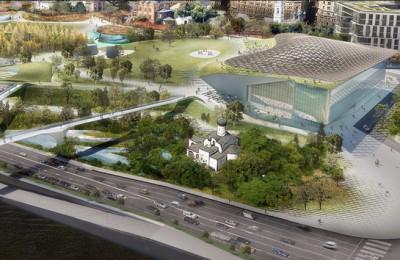 Проект парка «Зарядье» в Москве