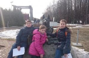 Музей боевой техники на Поклонной горе посетили ученики школы №902
