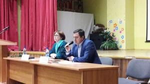 Встреча главы управы Кирилла Канаева с жителями