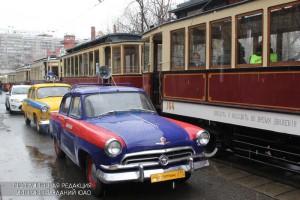 Парад трамваев в 2016 году в Москве