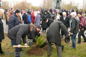 110 кустарников высадят в районе Бирюлево Восточное этой весной
