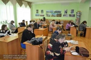 Текст Тотального диктанта продиктует журналист Светлана Сорокина в галерее «Загорье»