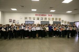 Мероприятие проходило в музейном зале школы № 1861 «Загорье»