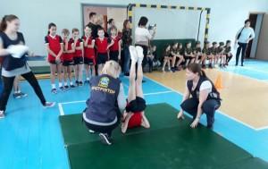 В районе Бирюлево Восточное провели межрайонный этап спортивно-образовательной игры «Защитники, вперед!»