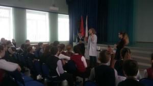 В школе №902 прошел научно-практический семинар о вреде табака