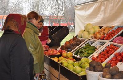 На Михневской улице начала работать Ярмарка выходного дня