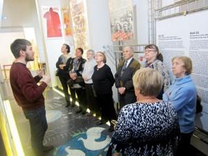 Пенсионеры района Бирюлево Восточное посетили Музей современной истории России