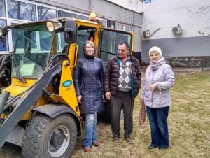 В районе Бирюлево Восточное провели весеннюю уборку библиотеки №138.