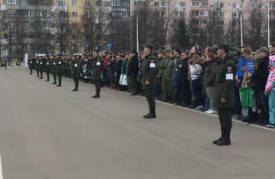 Акции «День призывника» прошла в поселке Мосрентген.