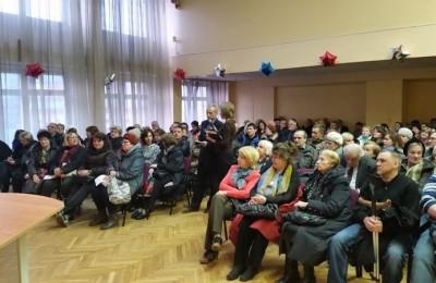 На встрече с главой управы Кириллом Канаевым