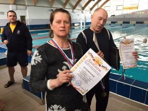 Пловцы района заняли второе место на окружных соревнованиях
