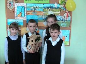 Участники конкурса «Скворечник для моей школы»
