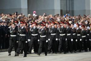Парад кадет пройдет в Москве 6 мая