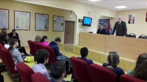 Экскурсия в отделе Министерства внутренних дел