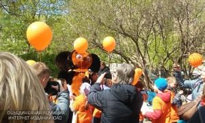 Школьники Москвы вышли на интеллектуальную прогулку