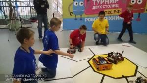 Турнир по робототехнике прошел в Москве