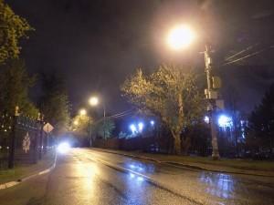 По просьбе местного жителя в районе восстановили освещение на улице