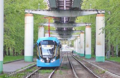 Трамваи нового поколения полностью заменили старые модели на маршруте №17