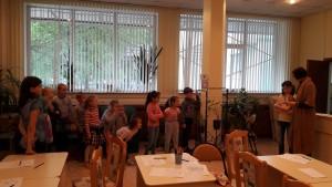 Детская библиотека организовала мероприятие в честь дня рождения поэтессы Юнны Мориц