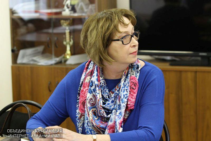 Депутат муниципального округа Татьяна Лапшина
