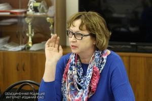 Глава муниципального округа Татьяна Лапшина