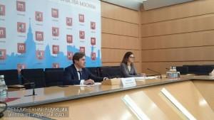 """Руководитель """"Мосприроды"""" Игорь Рябоконь провел пресс-конференцию"""
