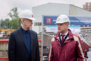 Мэр Москвы Сергей Собянин проинспектировал строительство ТПК