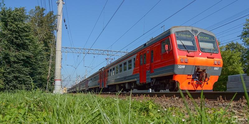 Электричка в Москве